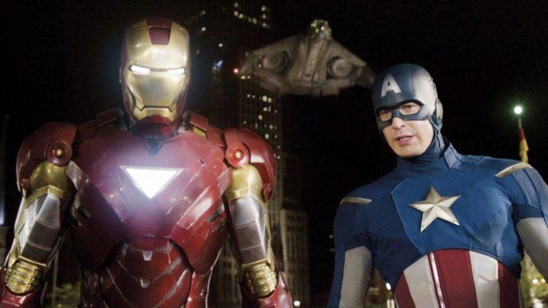 Avengers: Préparation du jeu final – Iron Man contre Captain America