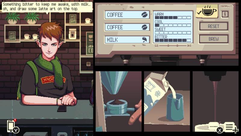 Premier coup d'œil: Coffee Talk