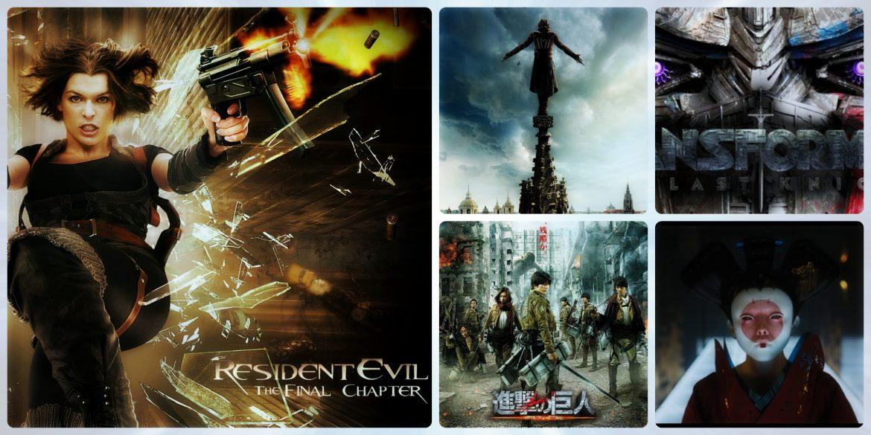 (À venir) Films d action en direct basés sur des anime ou des jeux # 01