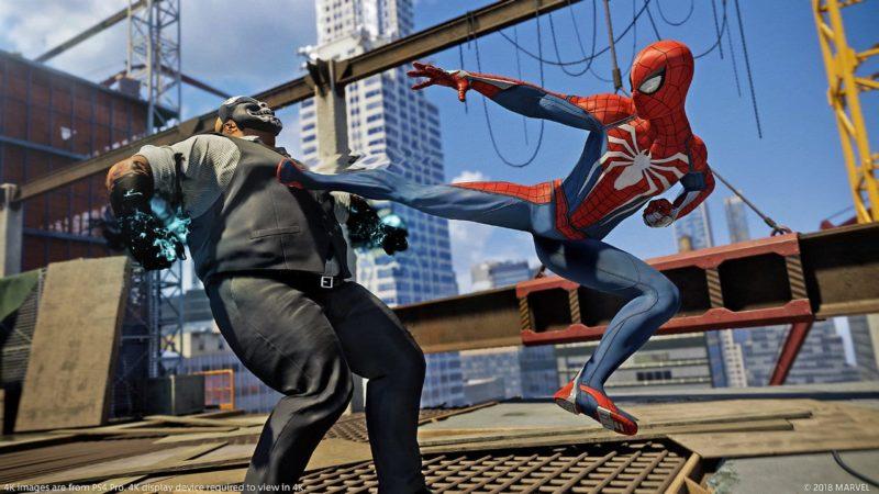 Spider-Man: incroyable jeu vidéo PS4